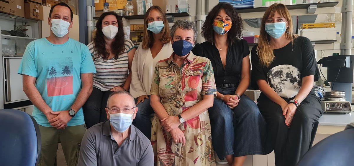 El equipo investigador de la Universidad de Oviedo (Foto. Universidad de Oviedo)