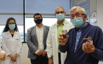Investigadores del Centro de Investigación Biomédica de La Rioja (Cibir) (Foto: Gobierno de La Rioja)