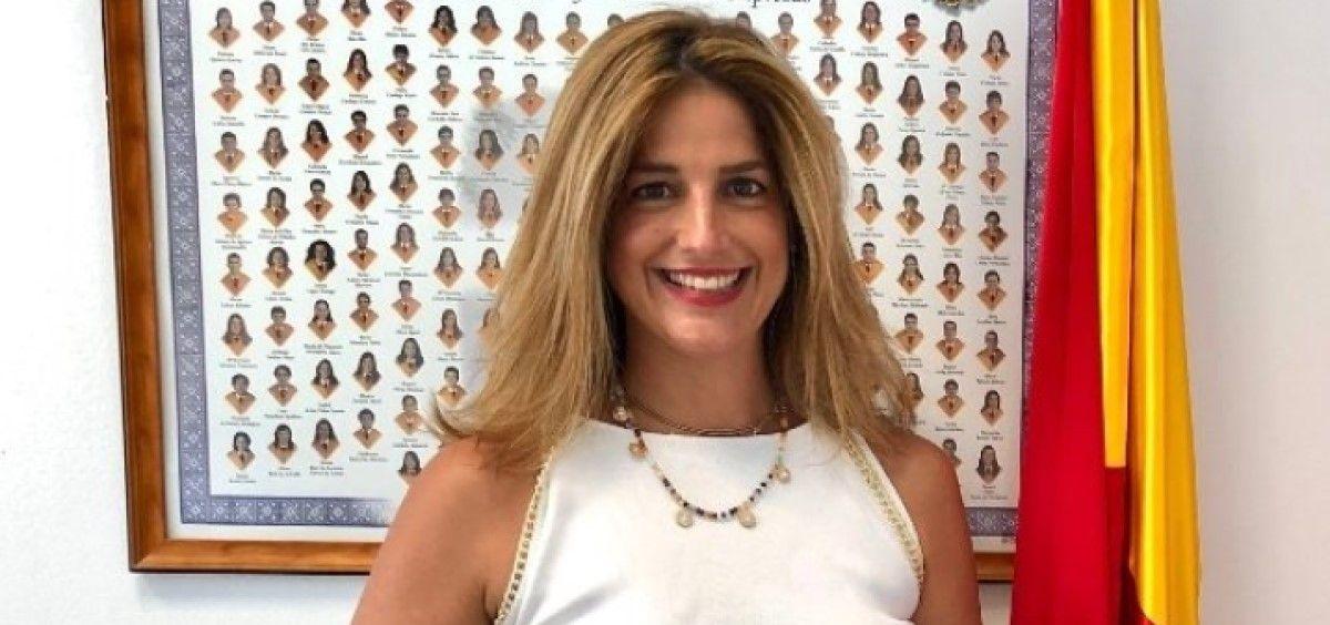 Elena Mantilla, directora General de Inspección Sanitaria de la Comunidad de Madrid. (Foto. Tw @ElenaMantillaG1)