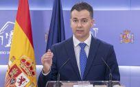 Héctor Gómez, portavoz del PSOE en el Congreso (Foto: PSOE)