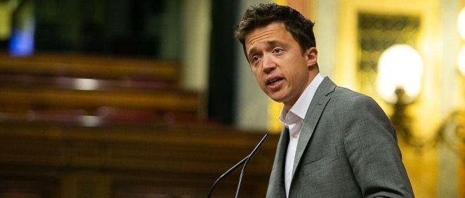 Íñigo Errejón, portavoz de Más País (Foto: Congreso)