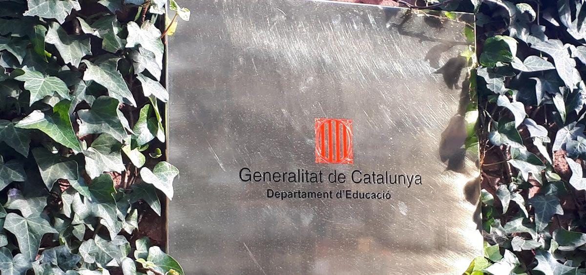 Consejería de Educación de la Generalitat de Cataluña (Foto. Europa Press)