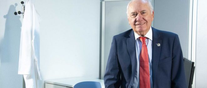 Florentino Pérez Raya, presidente del Consejo General de Enfermería. (Foto. CGE)