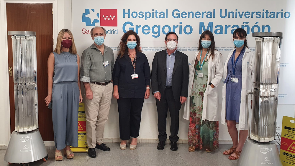 Fundación Aladina dona equipo a hospitales por valor de 50.000 euros
