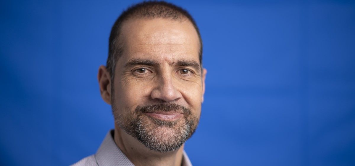 Daniel Gallego, presidente de Alcer, la Federación Nacional de Asociaciones para la lucha contra las enfermedades del riñón. (Foto. Daniel Gallego)