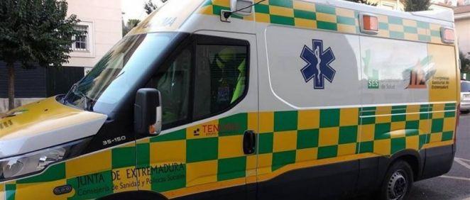 Ambulancia del Servicio Extremeño de Salud (Foto. CSIF)