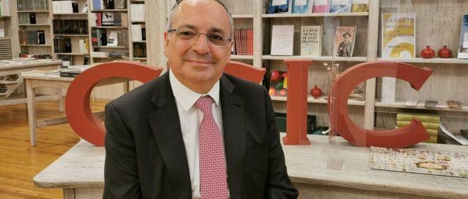 Juan Lerma, quien liderará el  Centro Internacional de Neurociencia Cajal. (Foto. Gema de la Asunción. CSIC comunicación. Archivo. EP)