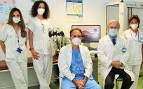 Especialistas de neumología del Hospital Clínico San Carlos (Foto: Clínico San Carlos)