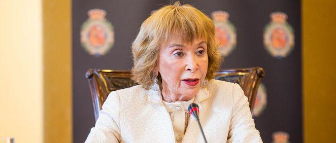 María Teresa Fernández de la Vega, presidenta del Consejo de Estado (Foto: CDE)