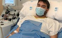 David Sánchez, donante efectivo de médula ósea (Foto: Comunidad de Madrid)