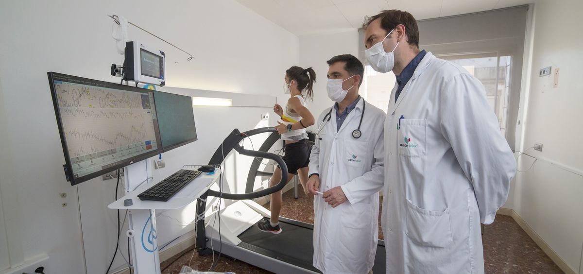 Nueva Unidad de Medicina Deportiva (Foto. Quirónsalud)