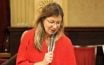 La consejera balear de Salud y Consumo, Patricia Gómez (Foto: Parlament)