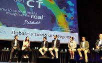 Ponentes en el evento 'El futuro del CT' (Foto: @PhilipsSpain)