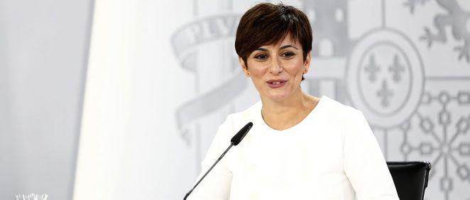 Isabel Rodríguez, portavoz del Gobierno (Foto: Pool Moncloa)