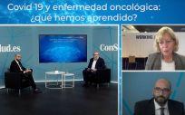 Taller Covid 19 y enfermedad oncológica (Foto. ConSalud TV)