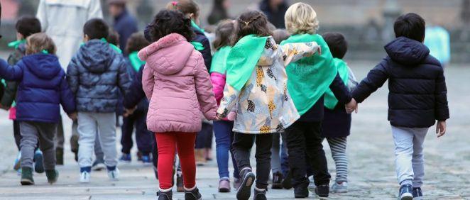 Niños paseando (Foto. Ana Varela - EP)