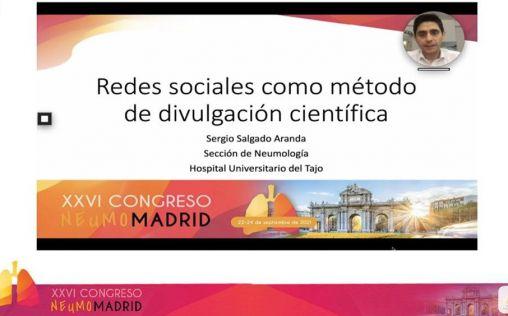 Los neumólogos madrileños abordan la producción científica durante la pandemia de la Covid-19
