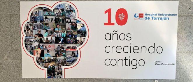 El Hospital de Torrejón cumple 10 años al servicio de los ciudadanos
