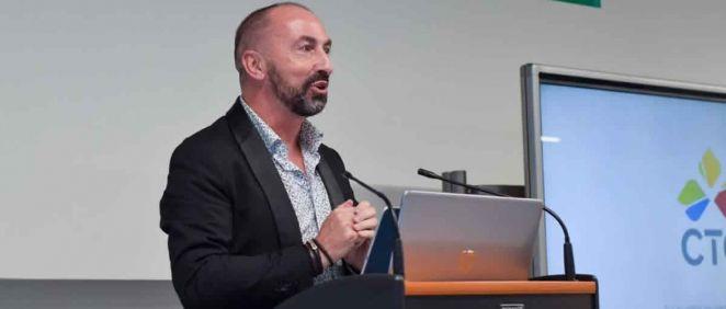 El director académico de CTO, Fernando de Teresa, durante la presentación (Foto. CTO)