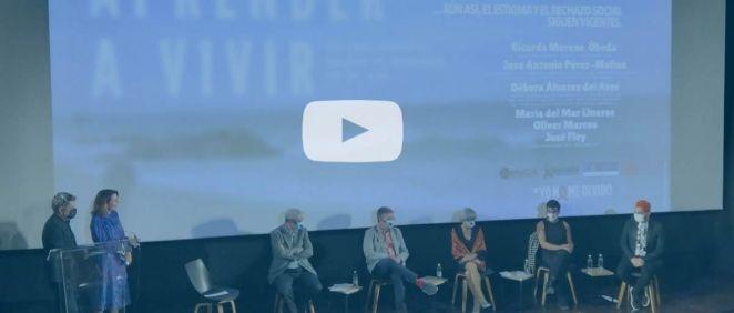 Coloquio tras la presentación del documental (Foto y vídeo. ConSalud.es)