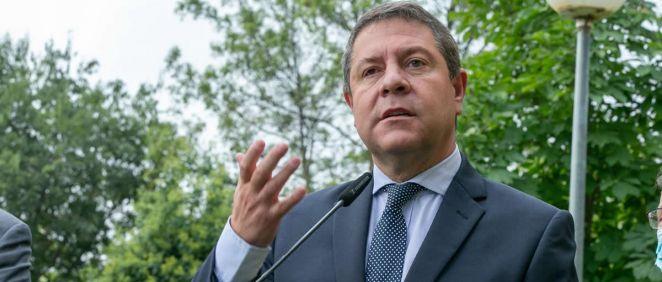 El presidente de Castilla-La Mancha, Emiliano García-Page (Foto: Junta C-LM/Ana Pérez Herrera)
