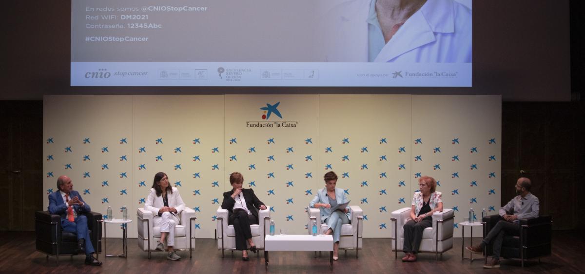 Jornada sobre vacunas Covid 19 y control del cáncer organizada por el CNIO. (Foto. CNIO)