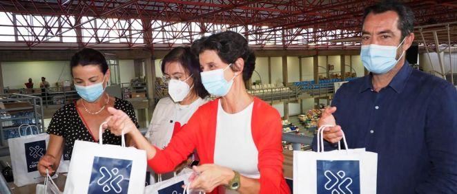 La Fundación Cofares dona productos de salud a los afectados por la erupción del volcán de La Palma (Foto: Fundación Cofares)