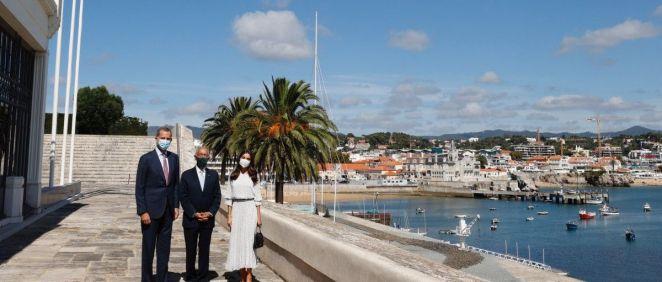 S.M. los Reyes inauguran, junto con el presidente de Portugal, Marcelo Rebelo de Sousa, el Botton Champalimaud Pancreatic Cancer Centre. (Foto. @CasaReal)