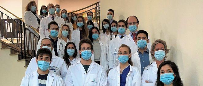 Equipo del Servicio de Neumología de la FJD (Foto: Fundación Jiménez Díaz)