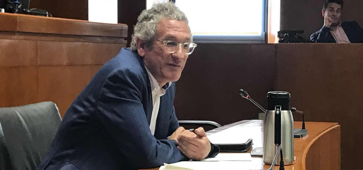 José María Abad, director general de Asistencia Sanitaria del Gobierno de Aragón (Foto: EP)