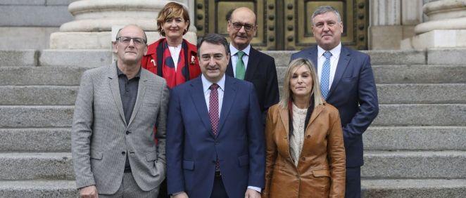 Diputados del Grupo Parlamentario Vasco EAJ-PNV en el Congreso (Foto: EAJ-PNV)
