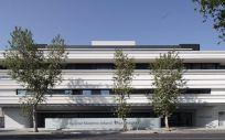 Fachada del Hospital Materno Infantil Quirónsalud Sevilla