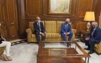 Ribera Hospital de Molina traslada al presidente de la Asamblea Regional de Murcia su proyecto y compromiso con la región