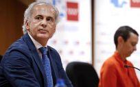 El consejero de Sanidad de la Comunidad de Madrid, Enrique Ruiz Escudero (Foto: Comunidad de Madrid)