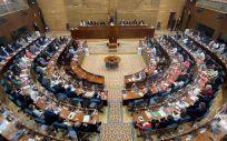 Pleno de la Asamblea de Madrid (Foto: Eduardo Parra - EP)
