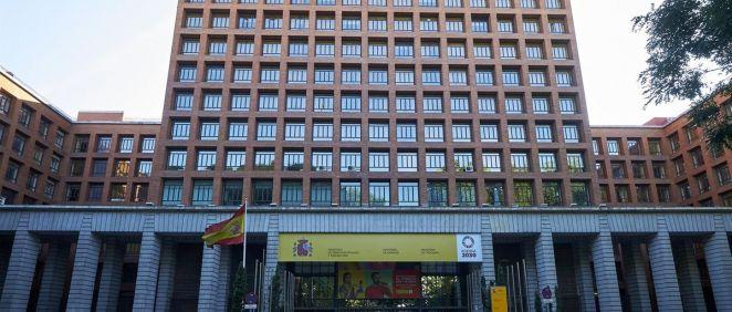 Sede del Ministerio de Sanidad (Foto: Jesús Hellín - EP)