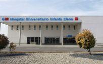 Fachada del Infanta Elena, en Valdemoro, Madrid. (Foto. Hospital Universitario Infanta Elena)