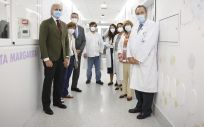 El consejero de Sanidad de la Comunidad de Madrid, Enrique Ruiz Escudero, en su visita a la Unidad de Hospitalización Psiquiátrica a Domicilio (UHPaD) del Hospital público Infantil Niño Jesús (Foto: Comunidad de Madrid)