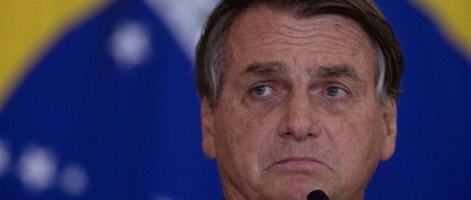 Jair Bolsonaro, presidente de Brasil. (Foto. EPA Joedson Alves)