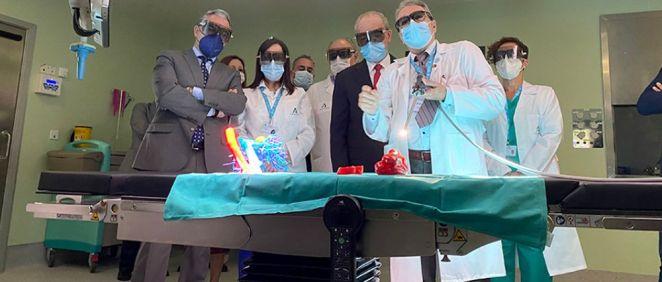 El Hospital de Málaga incorpora un quirófano inteligente