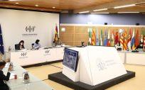 Reunión del Consejo Interterritorial a 13 de octubre de 2021 (Foto. Pool Moncloa, Fernando Calvo)