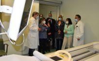 Carolina Darias visita el Hospital Sant Pau de Barcelona