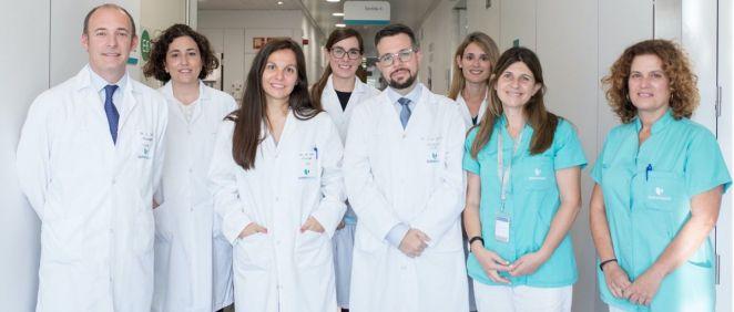 Equipo de la Unidad de Mama del Instituto Oncológico del Hospital Quirónsalud Barcelona (Foto: Quirónsalud)