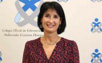 Isabel Iturrioz, nueva presidenta del Colegio de Enfermería de Navarra (Foto. Colegio de Enfermería)
