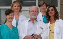 Equipo responsable de la lectura de las mamografías en el Programa de Detección Precoz del Cáncer de Mama de Cantabria (Foto: Oficina de Comunicación)