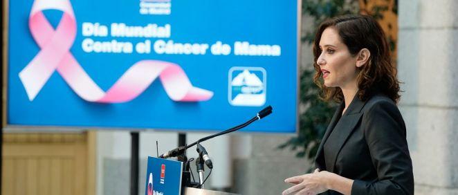 La presidenta de la Comunidad de Madrid, Isabel Díaz Ayuso (Foto: Comunidad de Madrid)