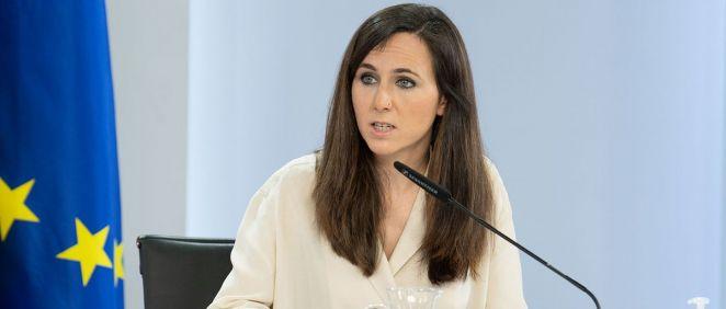 Ione Belarra, secretaria general de Podemos y ministra de Derechos Sociales y Agenda 2030 (Foto: Moncloa)