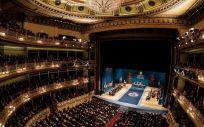 Imagen del Teatro de Campoamor durante la Ceremonia de los Premios Princesa de Asturias de 2018 (Foto. Fpa)