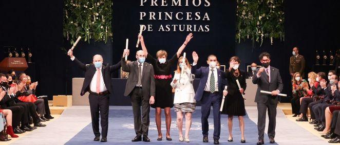 Los científicos galardonados con el Premio Princesa de Asturias de Investigación Científica y Técnica 2021 (Foto. @CasaReal)