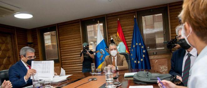 El Consejo de Gobierno de Canarias ha aprobado el proyecto de Ley de Presupuestos Generales de la Comunidad Autónoma para 2022 (Foto: Gobierno de Canarias)